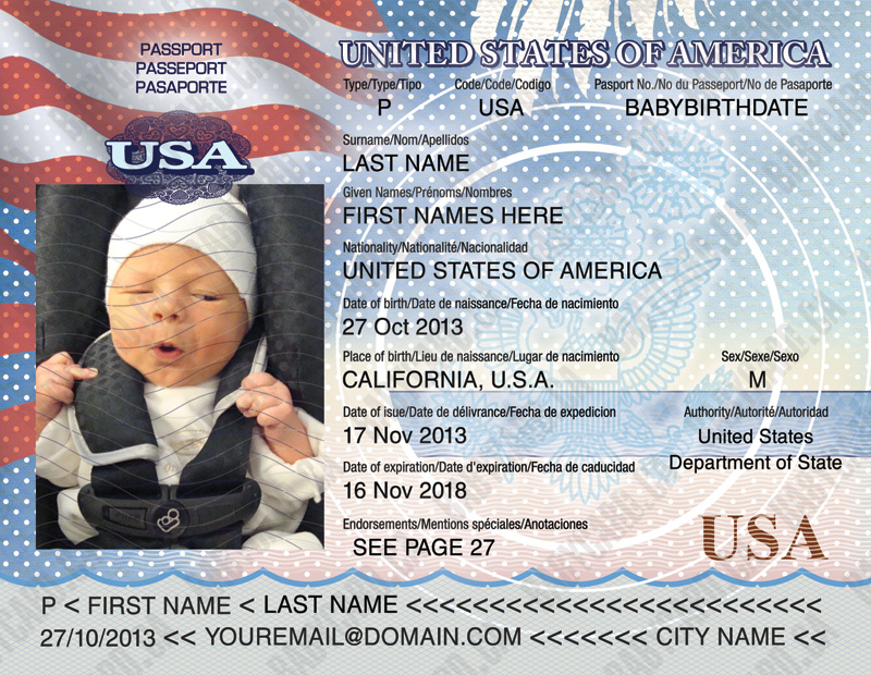 Passports For Minors Heavenly Cruises