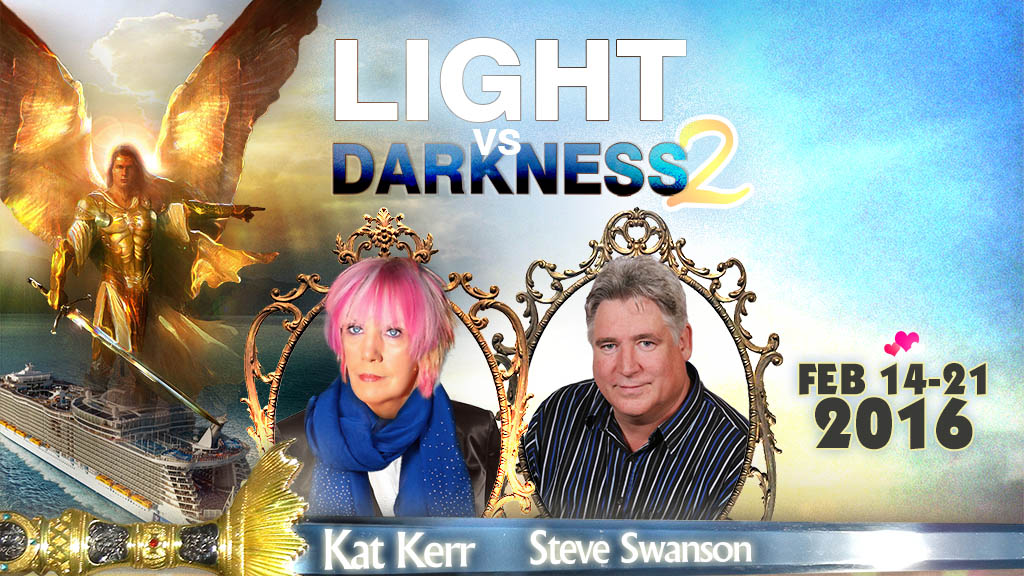 Kat Kerr Light vs Darkness 2 Cruise 2016