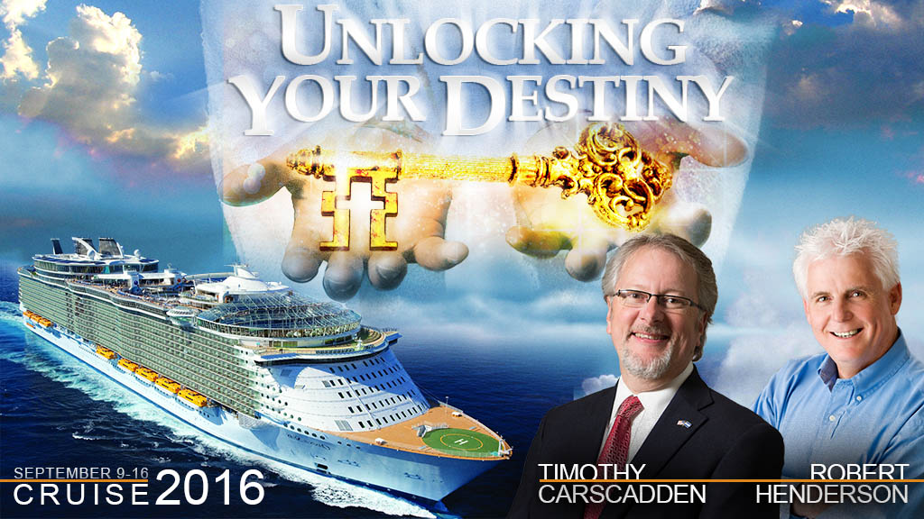 Unlocking Your Destiny cruise Timothy Carscadden