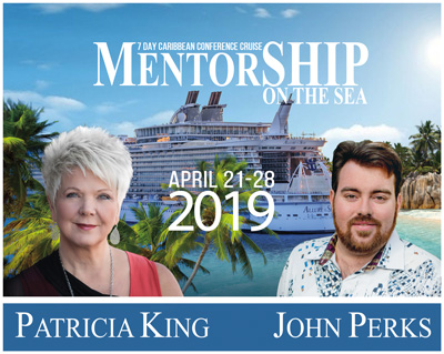 MentorSHIP – Patricia King and John Perks 2019 Cruise