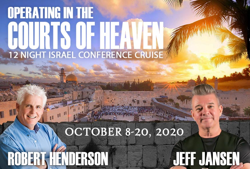 Robert Henderson and Jeff Jansen 2020 Israel Cruise