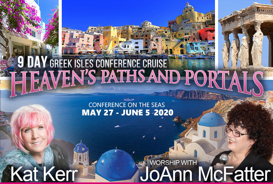 Kat Kerr Greek Isles Cruise 2020 – Heaven's Paths and Portals